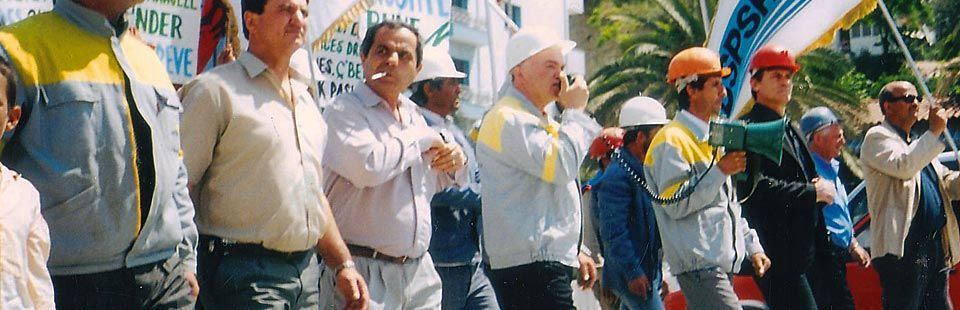 Protestë e Minatorëve